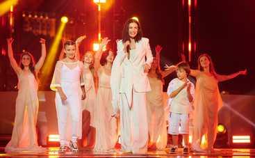 Анастасия Приходько впервые выступила со старшими детьми на большой сцене