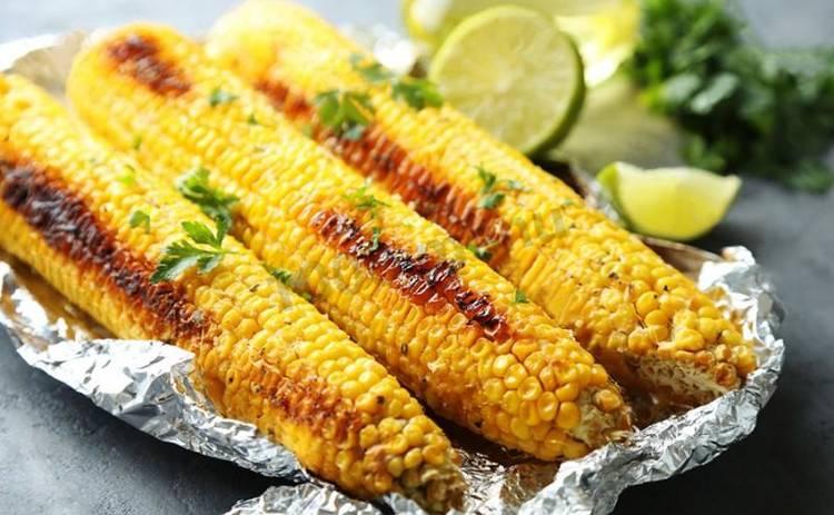Кукуруза в фольге в духовке - рецепт