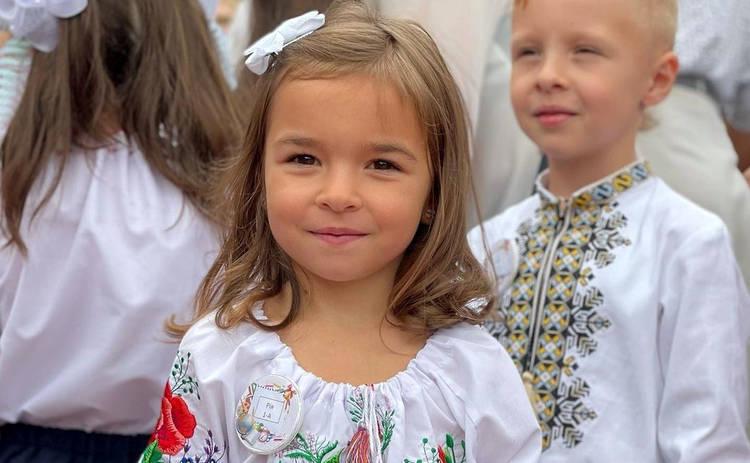 Как украинские звезды 1 сентября повели детей в школу: яркая фотоподборка