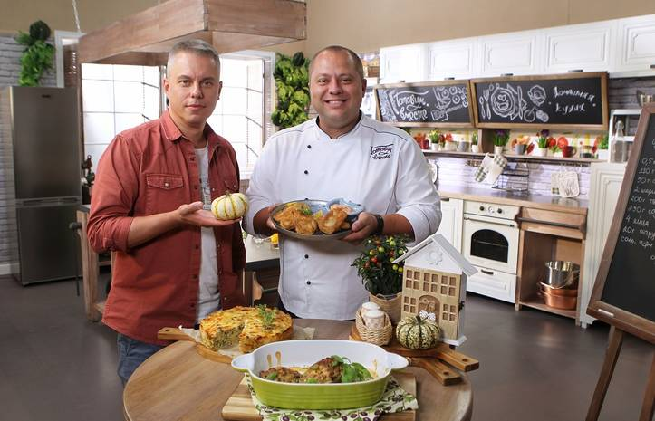 Готовим вместе. Домашняя кухня: смотреть онлайн 35 выпуск от 25.09.2021