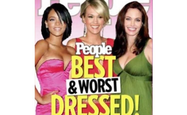 Назвали лучших и худших одетых женщин