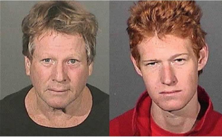 О'Нил и его сын арестованы за наркотики