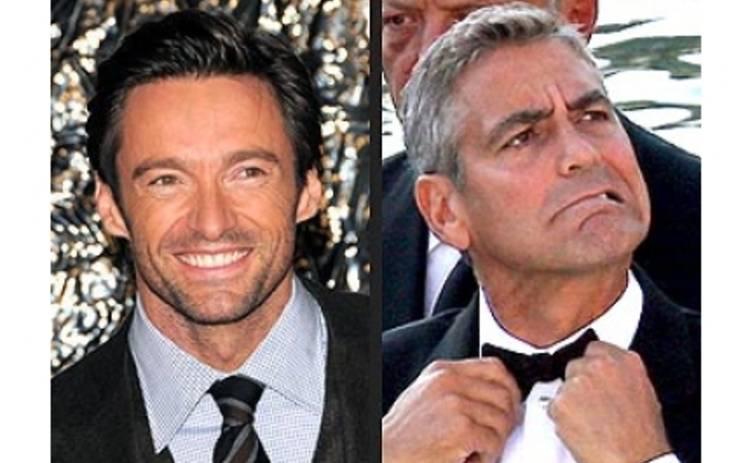 Джордж Клуни не может простить Хью Джекмену его новый титул