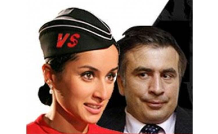 Тина Канделаки против Михаил Саакашвили
