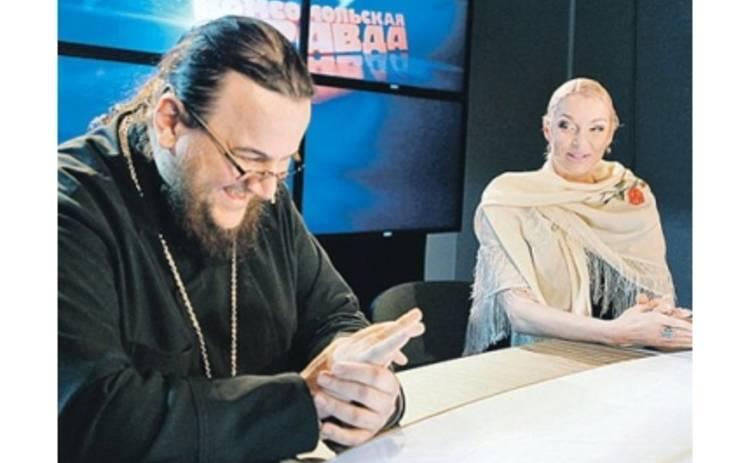 Волочкова поиздевалась над священником в прямом эфире
