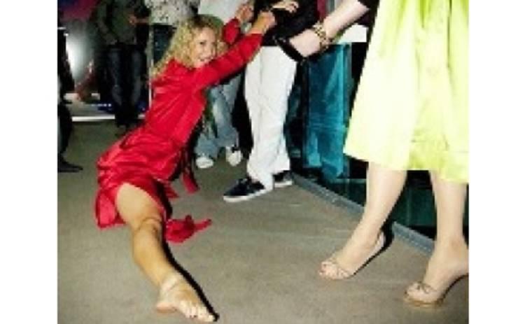 Собчак готовит себя в балерины