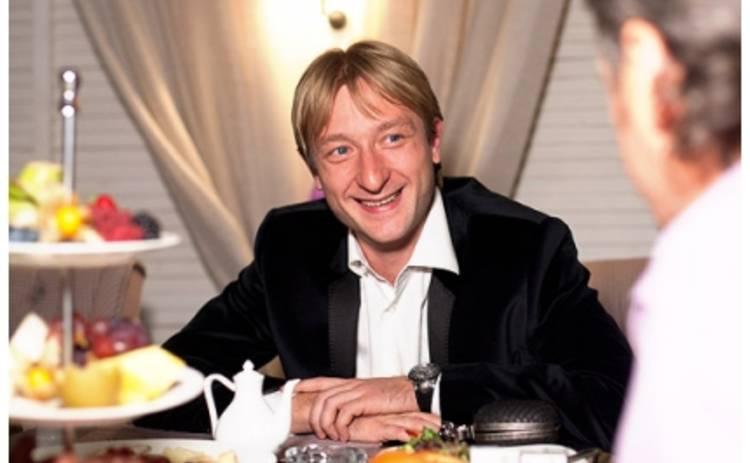 Евгений Плющенко получил травму на льду