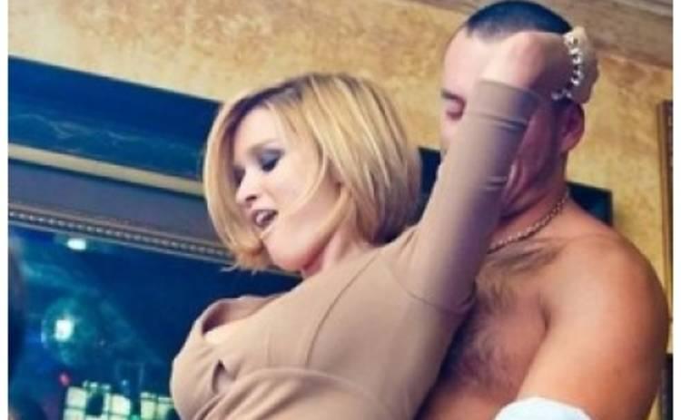 Пьяная Бородина и ее любовник устроили секс-танцы в ночном клубе