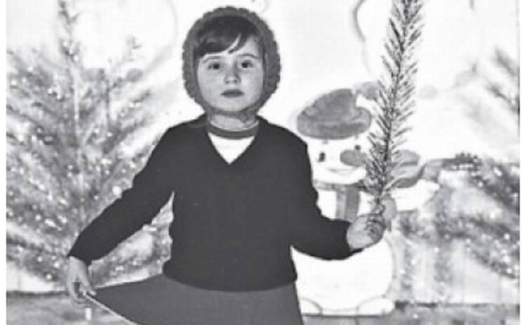Украинские звезды на новогодних утренниках в детстве