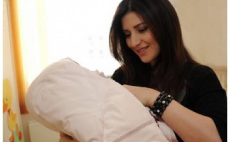 Первые фотографии новорожденной дочери Жасмин