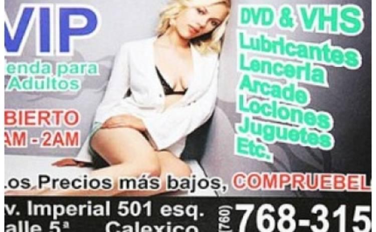 Скарлет Йохансон рекламирует секс-шоп