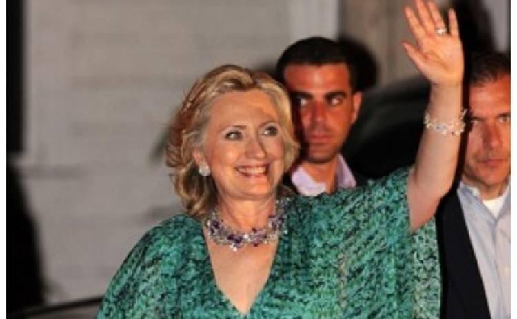 64-летняя Хилари Клинтон зажгла в ночном клубе