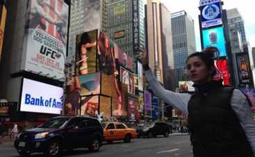 Оля Цибульская провела каникулы в Нью-Йорке (ФОТО)