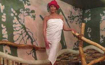 Анастасия Волочкова устроила новогодний корпоратив в бане