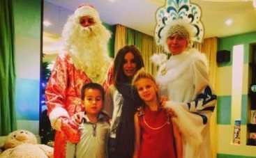Юлия Волкова показала фото подросших детей