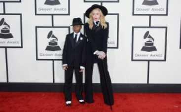 Grammy 2014: Мадонна пришла на премию с сыном (ФОТО)