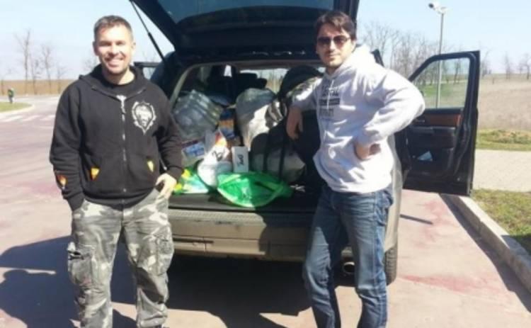 Сергей Притула и Геннадий Попенко поддержали украинских пограничников