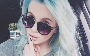 Дочь Алека Болдуина покрасила волосы в голубой цвет (ФОТО)
