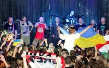 Ляпис Трубецкой дал концерт в Харькове: ругали Путина и пели гимн Украины