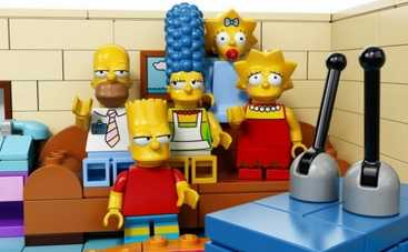 Симпсоны купились на LEGO