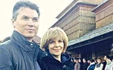 Ольга Богомолец нашла счастье с адвокатом