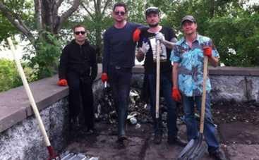 Друга Ріка устроила разборки с киевским мусором