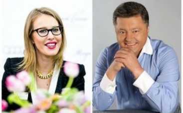 Ксения Собчак расспросила президента Украины про чётки