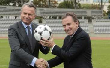 Чемпионат мира по футболу 2014: Тим Рот стал президентом FIFA (ВИДЕО)