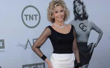 Джейн Фонда стала героиней премии Американского института киноискусств (ФОТО)