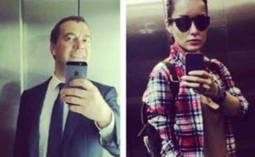 Канделаки соревнуется с Медведевым в лифте
