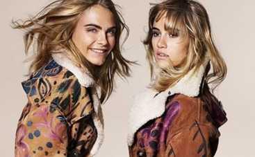 Кара Делевинь и Сьюки Уотерхаус снялись в рекламной кампании Burberry