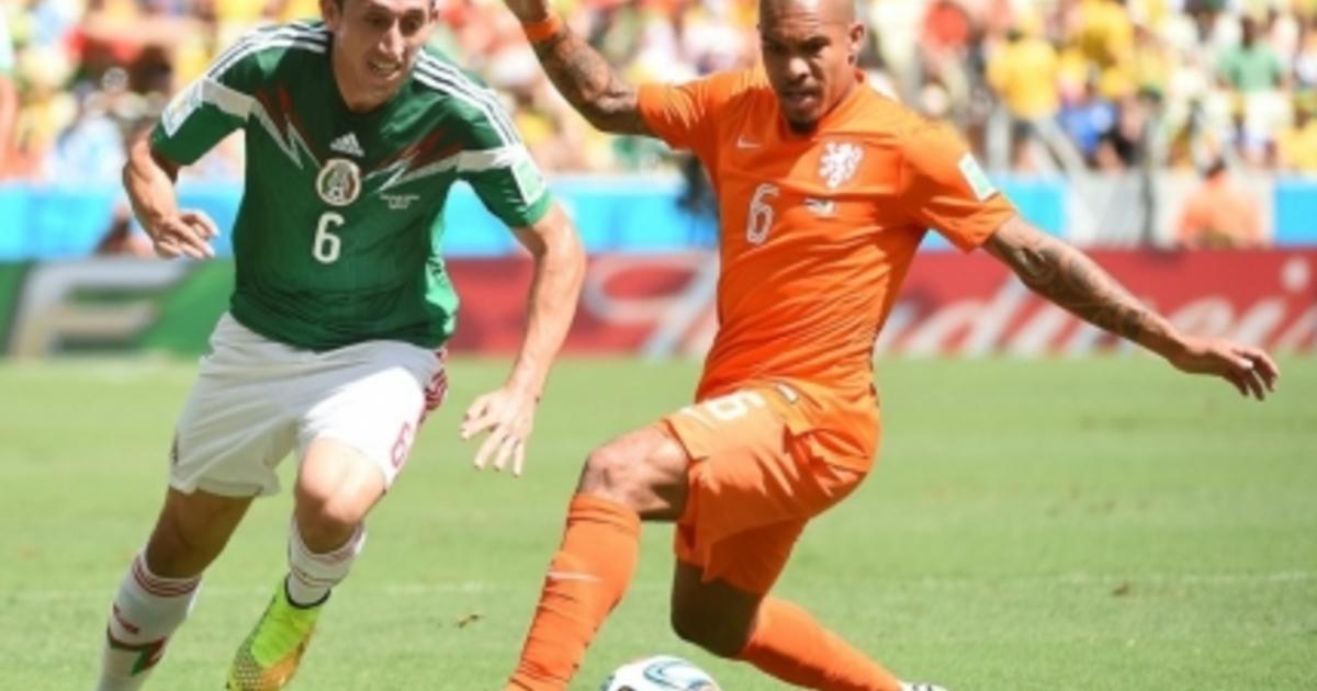 Чемпионат мира по футболу 2014: Нидерланды — Мексика. Счет ...