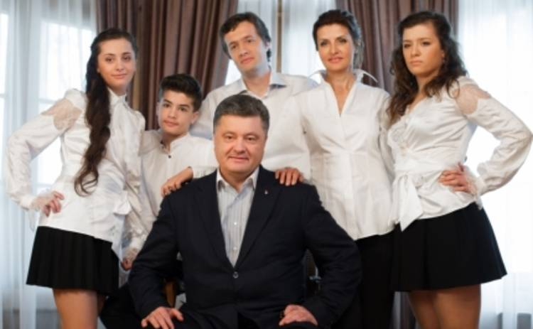 Дети Петра Порошенко танцуют хип-хоп, пишут стихи и играют на фортепиано (ФОТО)
