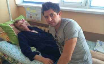 Андрей Джеджула навестил своего брата героя