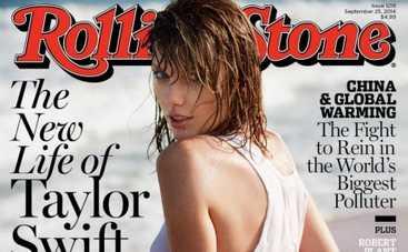 Тейлор Свифт в мокрой майке украсила обложку Rolling Stone (ФОТО,ВИДЕО)