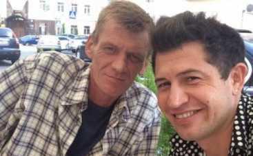 Андрей Джеджула забрал домой брата, раненого в зоне АТО (ФОТО)