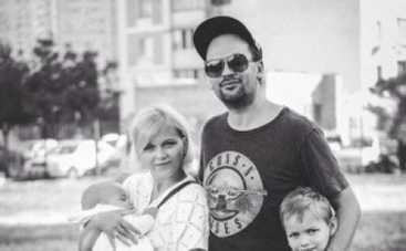 Олег Бондарчук впервые показал семейные фото (ФОТО)
