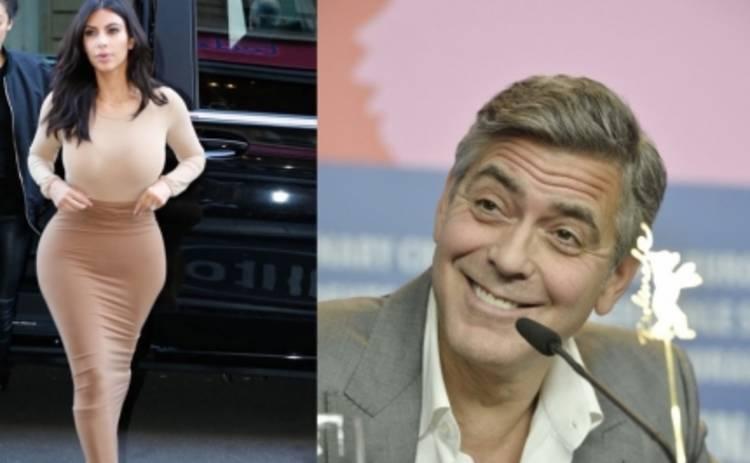 Морщины Джорджа Клуни круче попы Ким Кардашьян