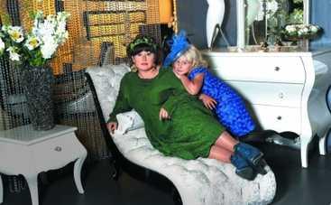 Юлию Куварзину научила одеваться дочка