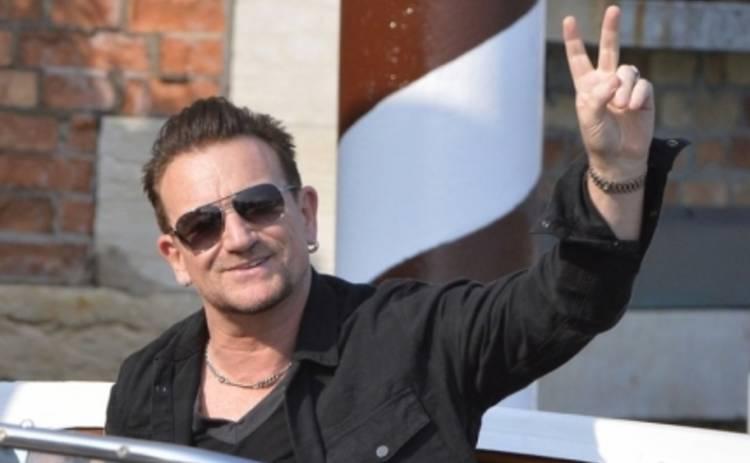 Солист группы U2 Боно разбился, катаясь на велосипеде
