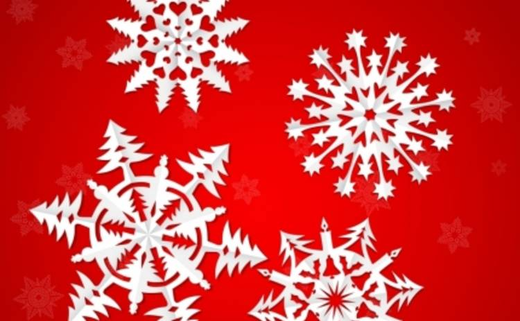 Новый год 2015: мастер-класс по вырезанию оригинальных снежинок (ВИДЕО)
