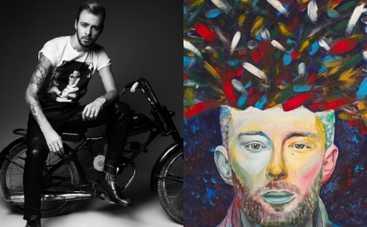 Макс Барских продает с молотка авторский портрет Тома Йорка (ВИДЕО)