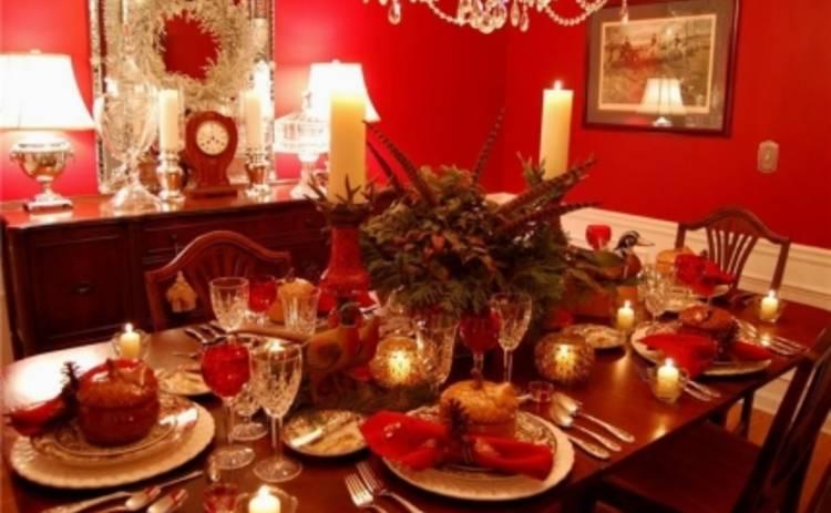 Новый год 2015: идеи сервировки новогоднего стола