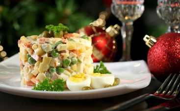 Новый год 2019: рецепт оливье без колбасы