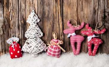 Новый год 2015: как сделать новогодние украшения своими руками (ФОТО)