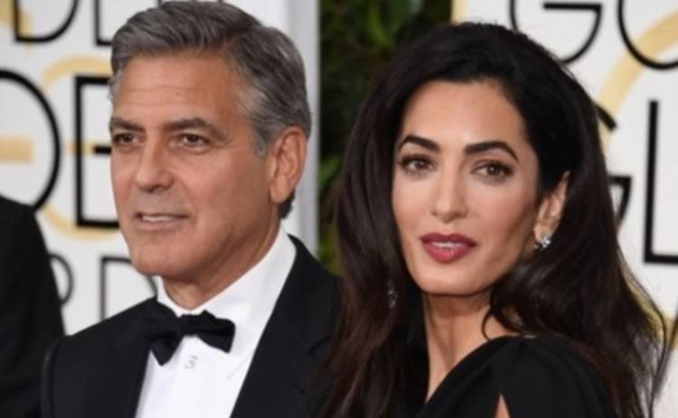 Жена Клуни поддержала протесты во Франции на вручении Золотого глобуса