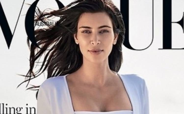 Ким Кардашьян вновь на обложке глянца (ФОТО)