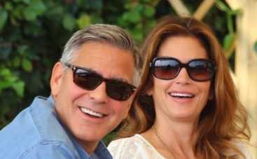 Джордж Клуни провел праздничные каникулы с Сидни Кроуфорд