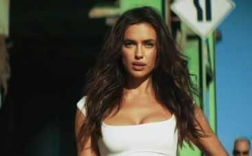 Ирина Шейк сыграла горячую штучку в клипе Марка Энтони (ВИДЕО)