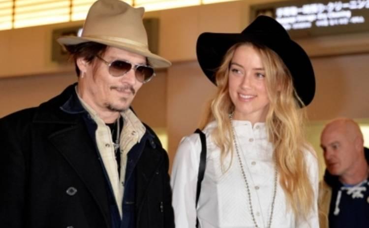Джонни Депп и Эмбер Херд заключат брак в начале февраля